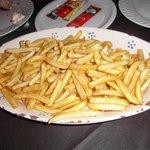 Maxi piatto di patatine