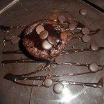 Soufflè con cuore di cioccolato
