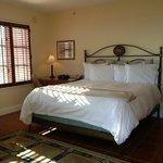 Bed ocean front room