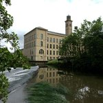 Salts Mill, River Aire, Saltaire