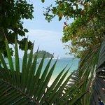 Aussicht auf Coral Island