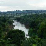 Aussicht vom Anfahrtsweg...Mara River