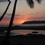 Sunset at Playa Carillo
