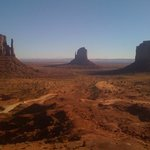 Monument Valley from our room at The View Hotel