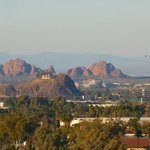 View over Tempe from the Hotel.
