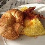 Restaurant - breakfast sandwich
