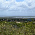 View of Bonaire from a higher point in the island.