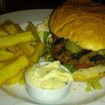 honest grillled burger