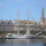 Le clos des chaumières . Saint Malo .