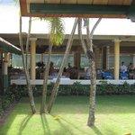 Buffet Punta Cana side