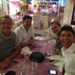 Luego de compartir Fondue con Angel, Ricky y Joaquin!!