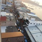Walking street from the roof