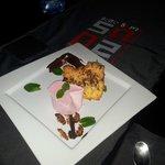 il dolce del menu di San Valentino