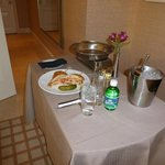 delicious room service