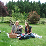 Come and enjoy the view from our beautiful picnic area