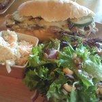 The Cubano sandwich is so delicious!