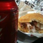 Shawarma and a Coke