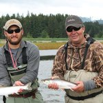 Volly Darden trout fishing