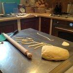 Handmade pici