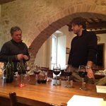 Winemaking with Giuseppe and enologist