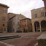 Pienza town square