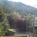 vista del cerro Otto desde la pieza