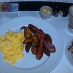 breakfast from in-room dining