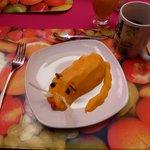 Desayuno simpatico y original !!!