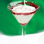 Shamrock Mint Martini