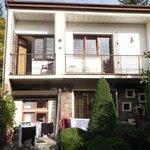 upstairs balconies