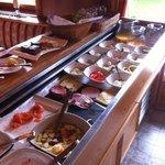 Fantastic selection of food