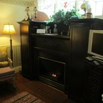 La Casita gas fireplace