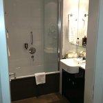 Bathroom (had washing machine/dryer too)