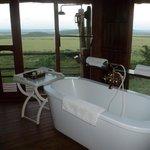 En rentrant du safari, un bon bain vous tente