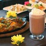 Chicken Karahi and Sheer Chai