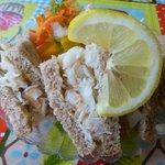Crab sandwich