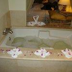 Turndown bubble bath