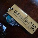 Our room keys