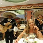 Mexicaanse avond in het buffetrestaurant