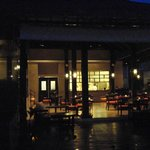Restaurant at night