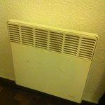 it is warm inside the room