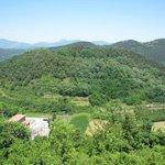 Volca de la Garrinada - the private area