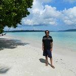 Long stretch KalaPatthar  of  Beach