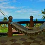 View from balcony of upper Family Villa