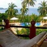 View from Family Villa balcony
