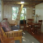 White Oak tree house main floor