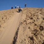 Thrilling sandhill slides