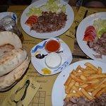Il famoso Kebab del Tux! Super!