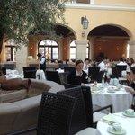 Il ristorante con il tetto di vetro