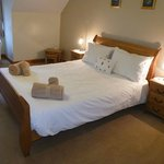 Superior Double room. Large double room with en-suite shower.